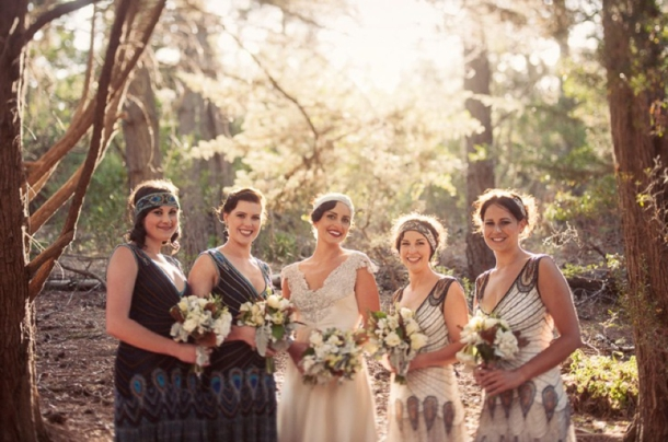 Great Gatsby Bridesmaid Dresses | SouthBound Bride