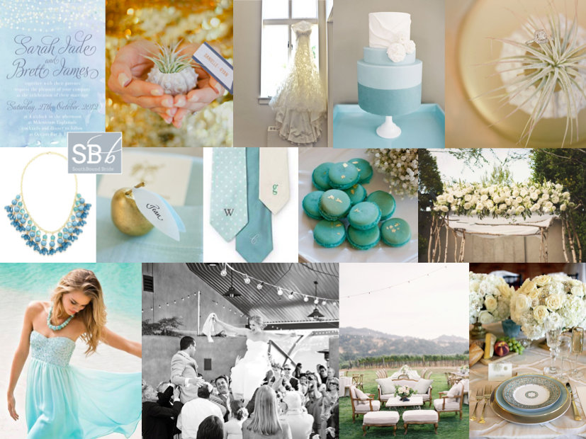 Inspiration Board: Walk on the Ocean | SouthBound Bride