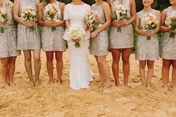 Bridesmaid Dresses Gold Glitter - Wedding Short Dresses