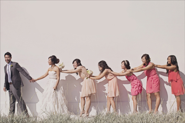 Ombre Bridesmaid Dresses | SouthBound Bride