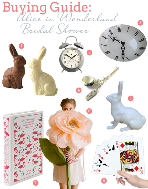 Create an Alice in Wonderland Bridal Shower | SouthBound Bride