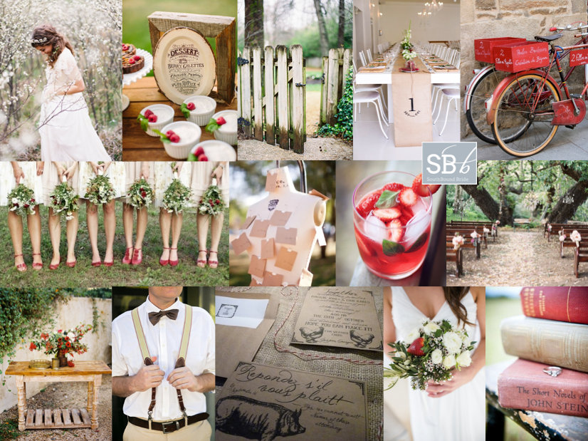 Inspiration Board: Blossom & Berry | SouthBound Bride