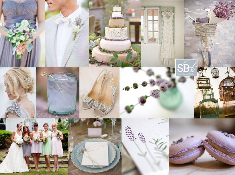 Inspiration Board: Mint & Lilac | SouthBound Bride