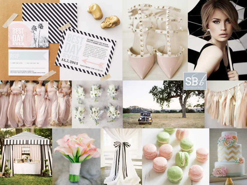 Inspiration Board: Modern Romantic | SouthBound Bride