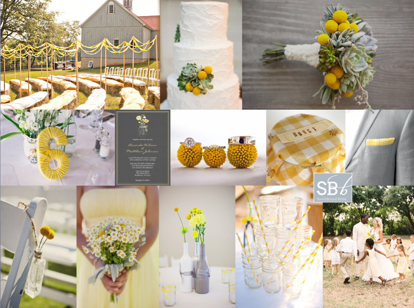 Inspiration Board: Sunny Afternoon | SouthBound Bride