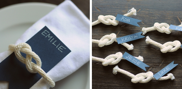 Nautical Wedding DIY Roundup | SouthBound Bride