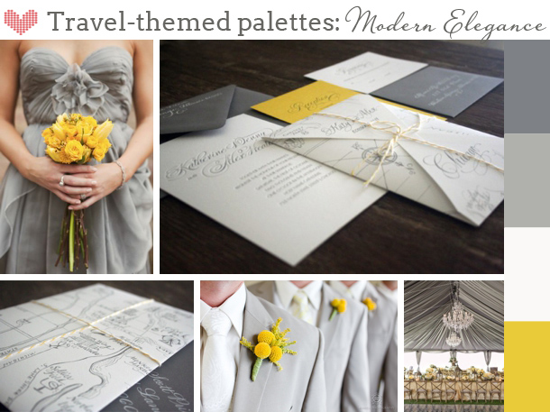 Three Looks for Travel themed Weddings | SouthBound Bride