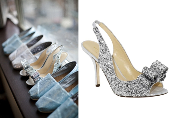 Sparkly Wedding Shoes Wedding Shoes Left