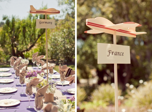 Miniature Cardboard Suitcases For Centerpieces Travel Themed