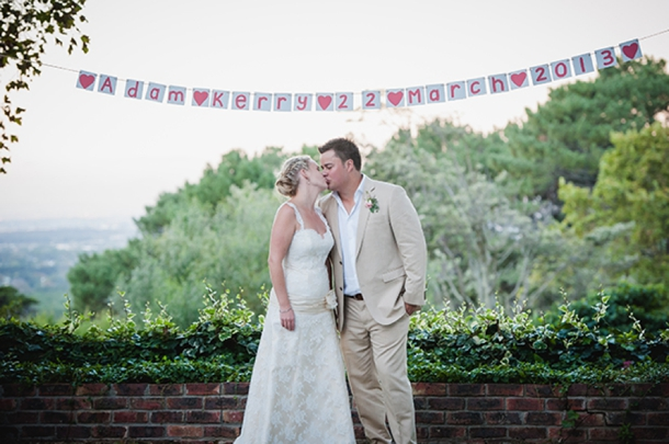 Real Garden Wedding {Kerry & Adam} | SouthBound Bride