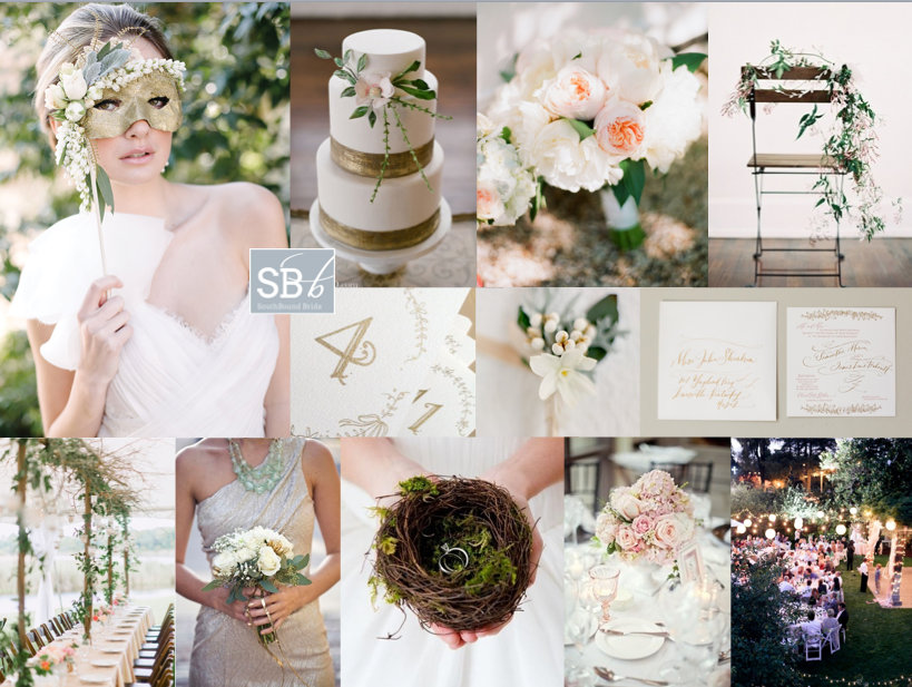 Inspiration Board: Midsummer Nights Dream | SouthBound Bride
