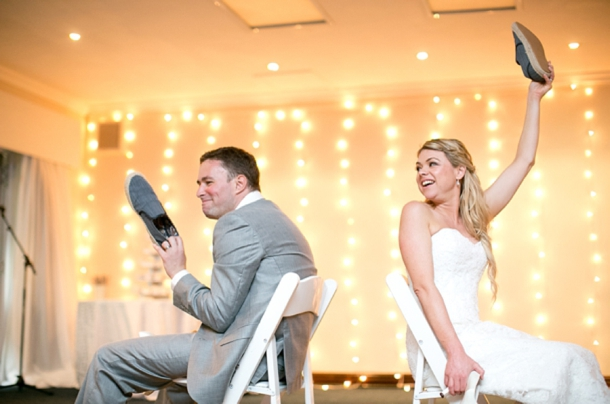 The Newlywed Shoe Game | SouthBound Bride