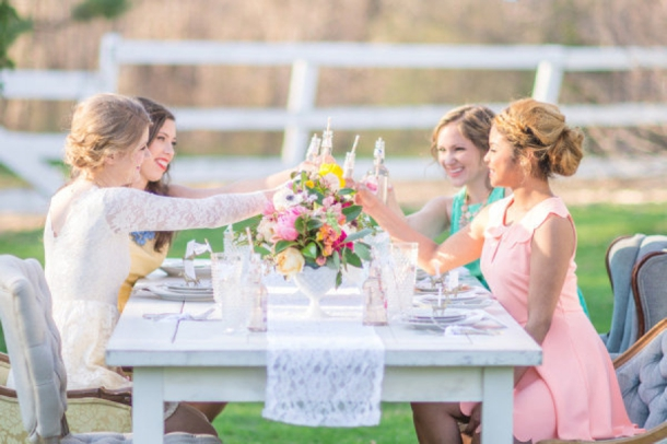 Hen Party Theme: Gold Cup | SouthBound Bride