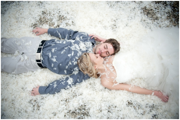 Pillow Fight Anniversary Shoot | SouthBound Bride