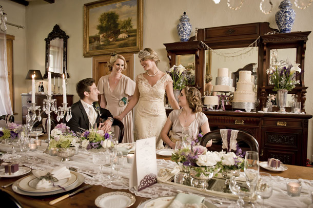 Downton Abbey Wedding Inspiration | SouthBound Bride