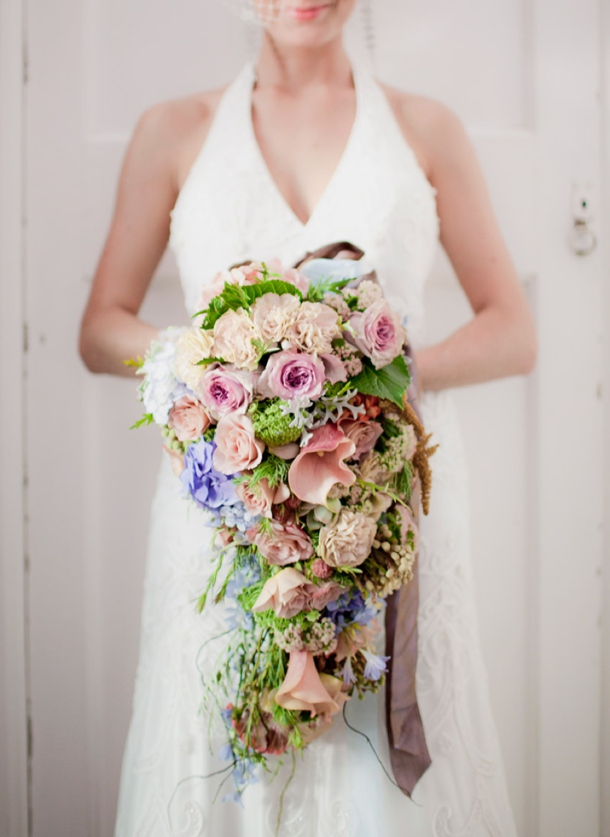 Cascade Bouquets | SouthBound Bride