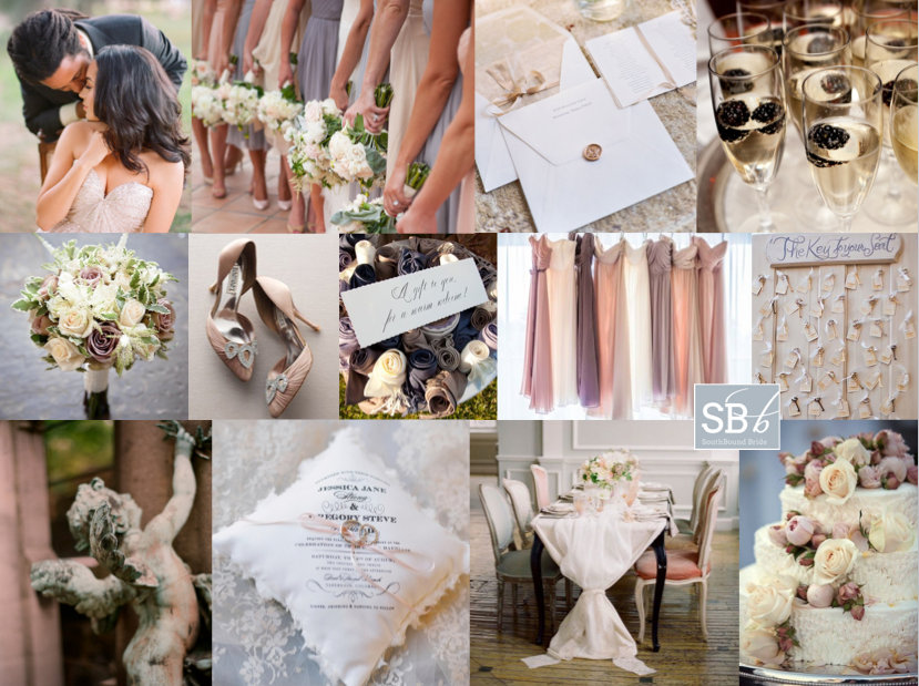 Inspiration Board: Neutrally Beautiful | SouthBound Bride