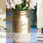 Gold & Glitter DIY Roundup