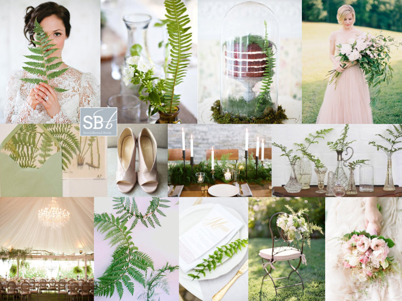 Inspiration Board: Botanical Blush | SouthBound Bride