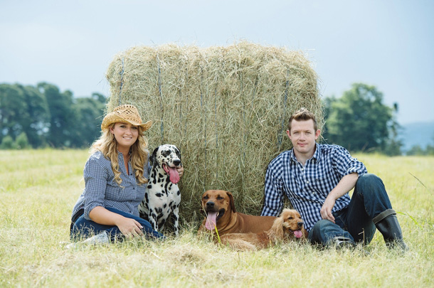 Puppy Love Engagement Shoot | SouthBound Bride