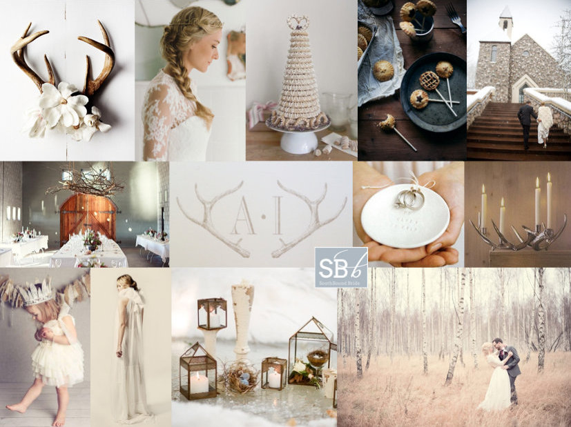 Inspiration Board: Nordic Nuptials | SouthBound Bride