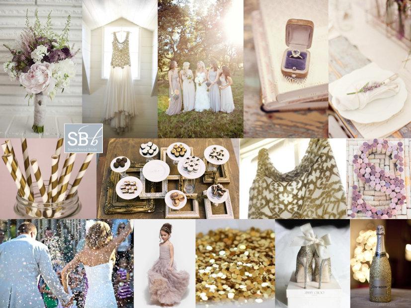 Inspiration Board: Plumfetti | SouthBound Bride