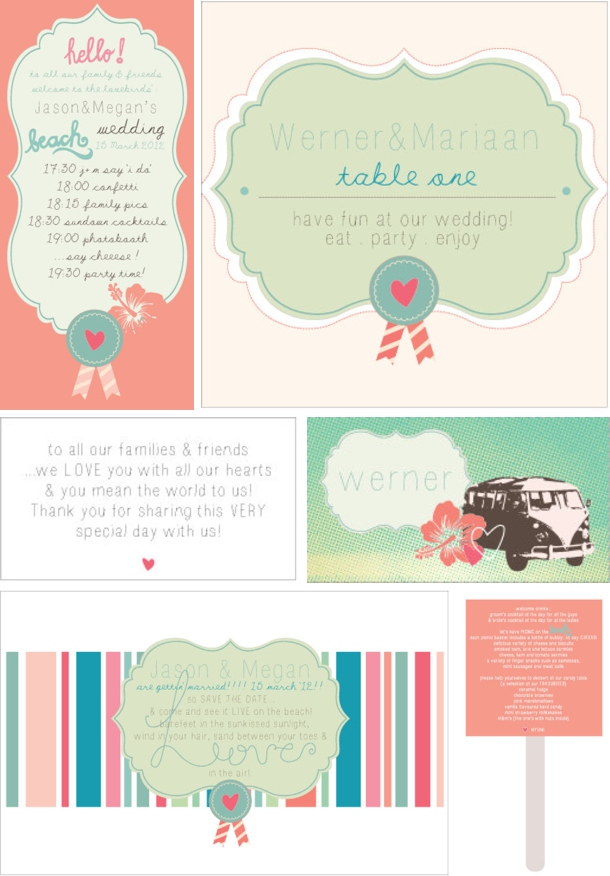 Colour Story: Hawaiian Honeysuckle | SouthBound Bride