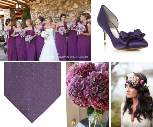 Colour Story: Indigo & Violet | SouthBound Bride