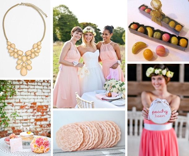 Colour Story: Peach Blossom | SouthBound Bride