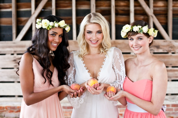 How to Create a Peach Watercolour Wedding | SouthBound Bride