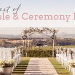SouthBound's Best 2013: Aisle & Ceremony Decor