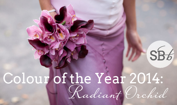 Pantones Colour of the Year 2014: Radiant Orchid | SouthBound Bride