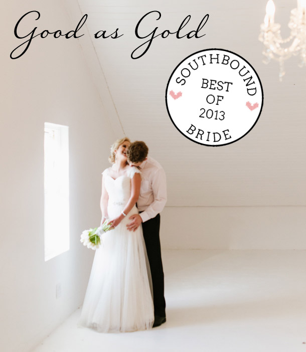 Top 10 Weddings of 2013 {Good As Gold} | SouthBound Bride