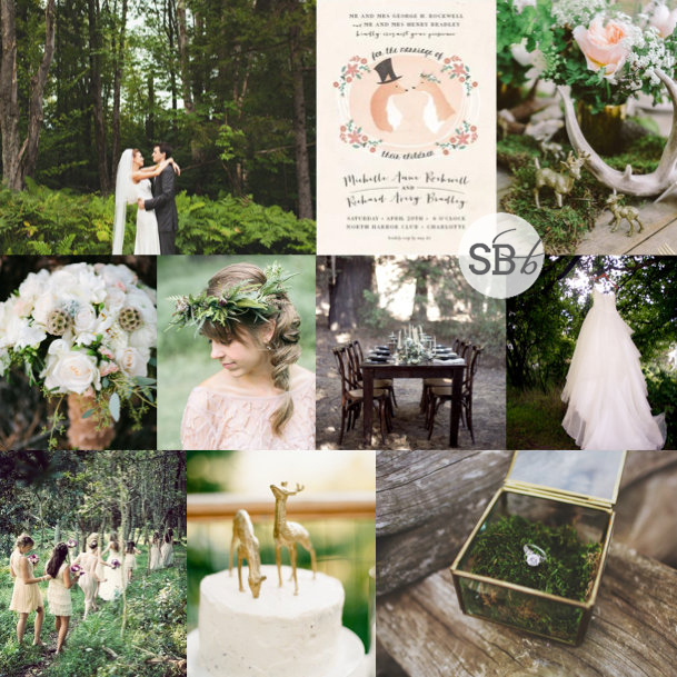 Inspiration Board: Forest Fantasy | SouthBound Bride