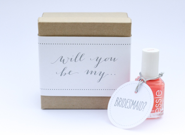 Be My Bridesmaid DIY Roundup | SouthBound Bride