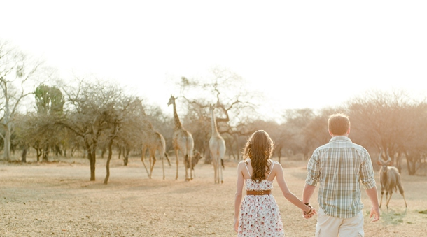 Game Farm Engagement | SouthBound Bride