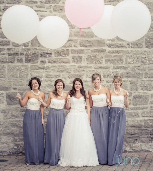 Two tone Bridesmaid Dresses | SouthBound Bride