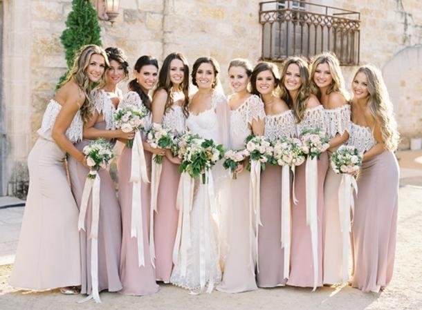 Two Colour Wedding Dresses 2
