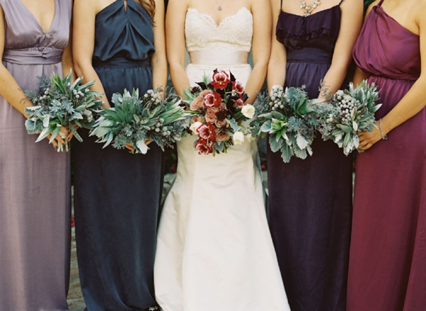 Berry & Jewel Tone Bridesmaid Dresses | SouthBound Bride