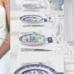 Delft Blue Glenshiel Wedding by Laurentia E. Photography {Elena & Liam}