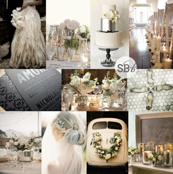 Inspiration Board: Mercury Rising | SouthBound Bride
