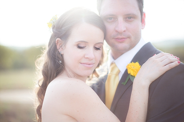 Sunflower filled River Place Wedding by Genevieve Fundaro {Carin & Darren} | SouthBound Bride