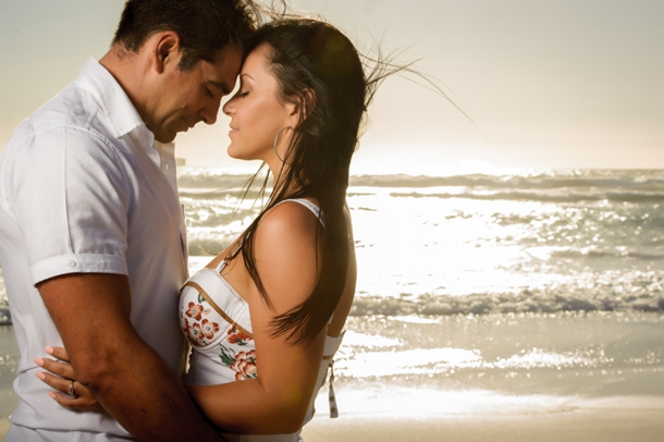 Sizzling Sunset Engagement by Vizion Photo | SouthBound Bride