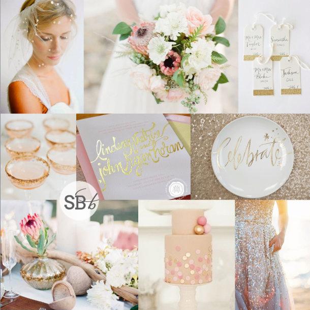Inspiration Board: Protea Glitz | SouthBound Bride