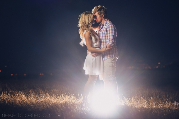 After Dark Engagement Shoot by Riekert Cloete | SouthBound Bride