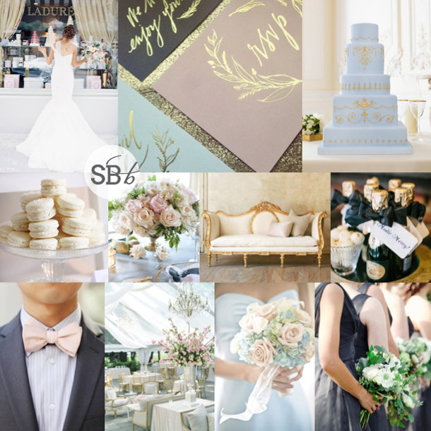 Inspiration Board: Lovely Laduree | SouthBound Bride