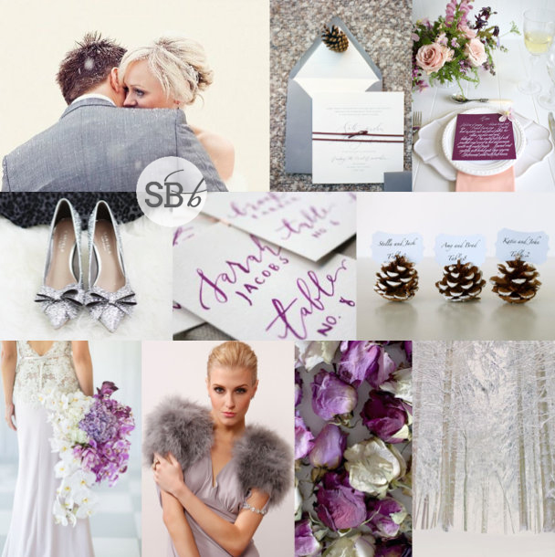 Inspiration Board: Radiant Winter | SouthBound Bride