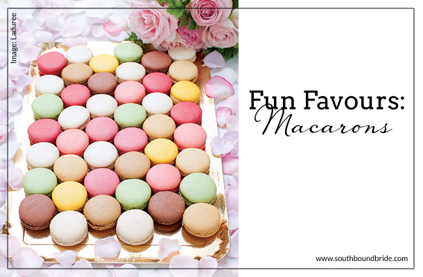 Fun Favours: Macarons | SouthBound Bride