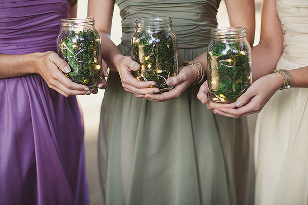 Forest & Woodland Wedding Details | SouthBound Bride