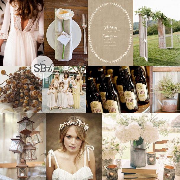 Inspiration Board: The New Rustic | SouthBound Bride